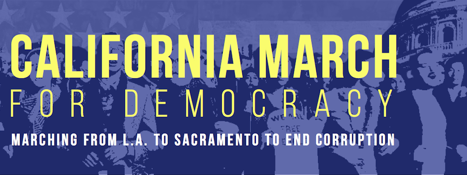 Call to Action: 99Rise March for Democracy Comes to Bakersfield Tues. 5/27 -Thurs, 5/29