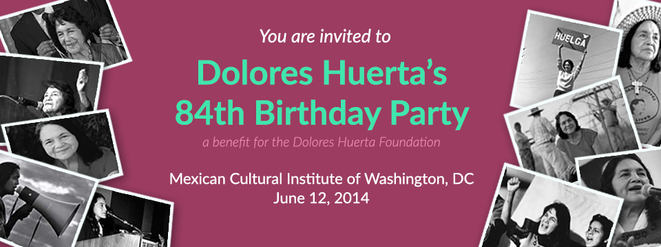 Event: 84th Birthday Fundraiser Washington DC, Thurs.  6/12
