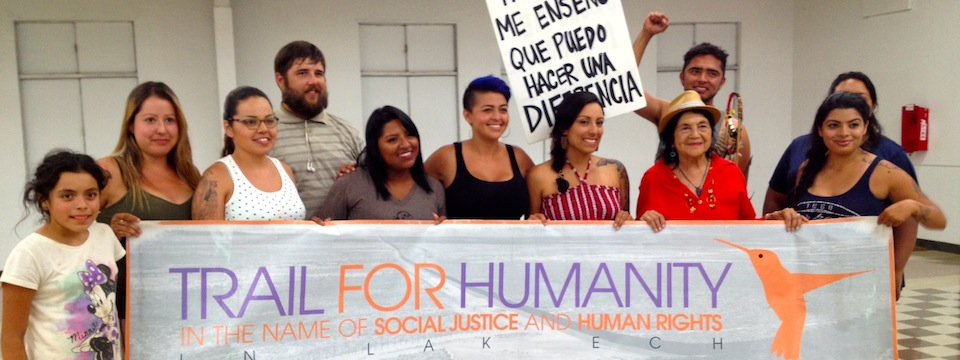 Call to Action: Trail for Humanity at McCarthy's Office, Fri. 8/1, 3pm