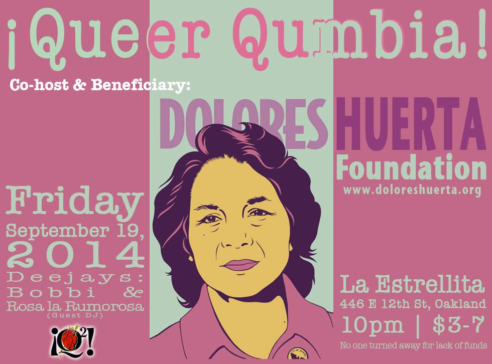 Queer Cumbia 2014 Flyer