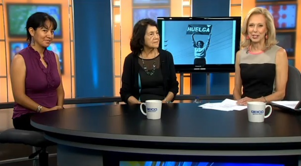 Video: Dolores Huerta Interview in NewsChannel 8, Washington DC. 6/13/14