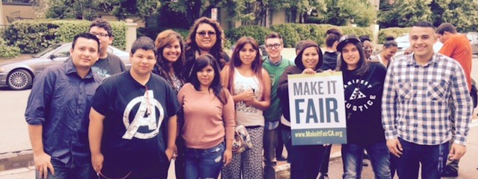 DHF in Action: Make It Fair Kickoff Press Conference in Sacramento 5/7