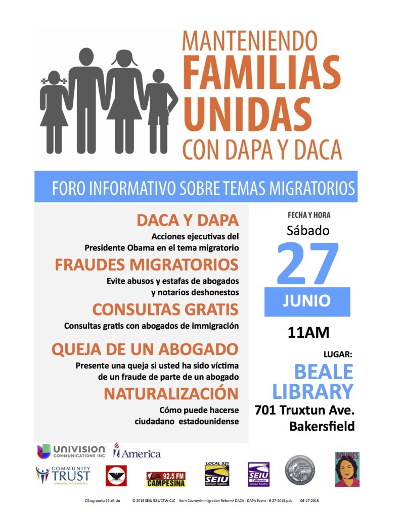 Spanish DACA - DAPA Event - 6-27-2015