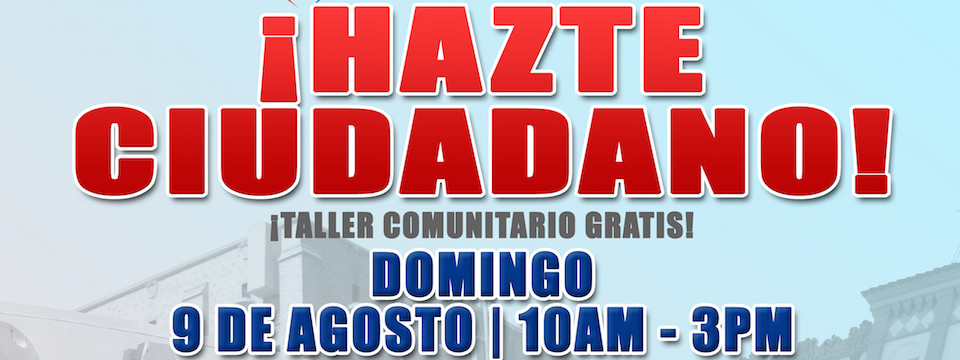 Evento: Foro de Ciudadania Gratis, 9/8/15, 10am