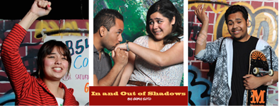 Event: 'In and Out of Shadows' a Play by Gary Soto, Fri. 9/25/15, 9:30am & Sat. 9/26/15, 7pm