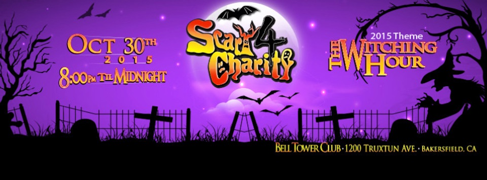 Call to Action: Volunteers Needed Scary for Charity, Fri. 10/30/15