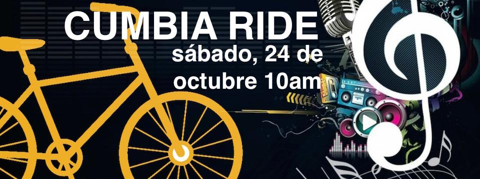 Event/Evento: CUMBIA RIDE in Arvin 10/24/15, 10am