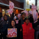 Dolores Huerta in Action: Marching for Fair Wages with Workers in Wisconsin 11/10/15
