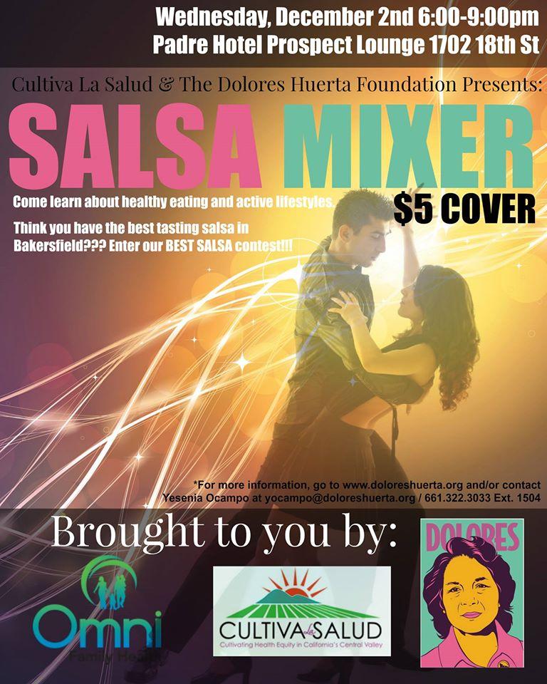 Salsa Mixer Flyer