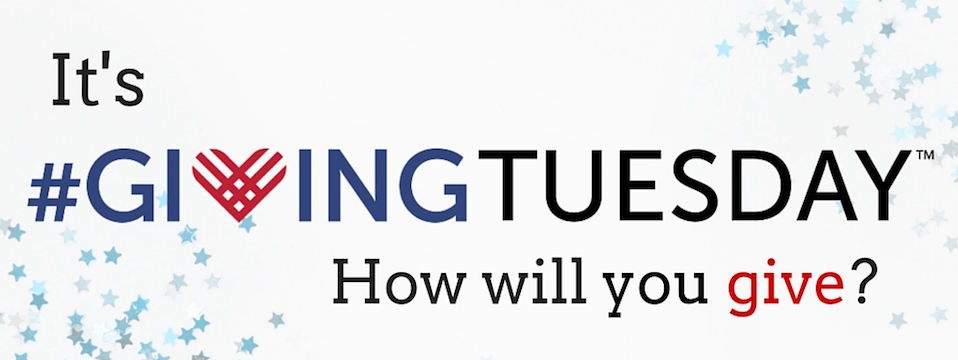 Call to Action: #GivingTuesday, 12-1-15