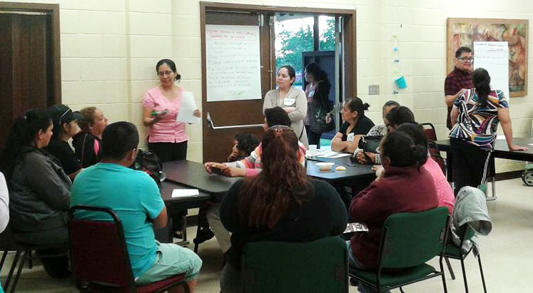 DHF in Action: First DHF Cultiva la Salud Greenfield Monthly General Meeting 3/30/16