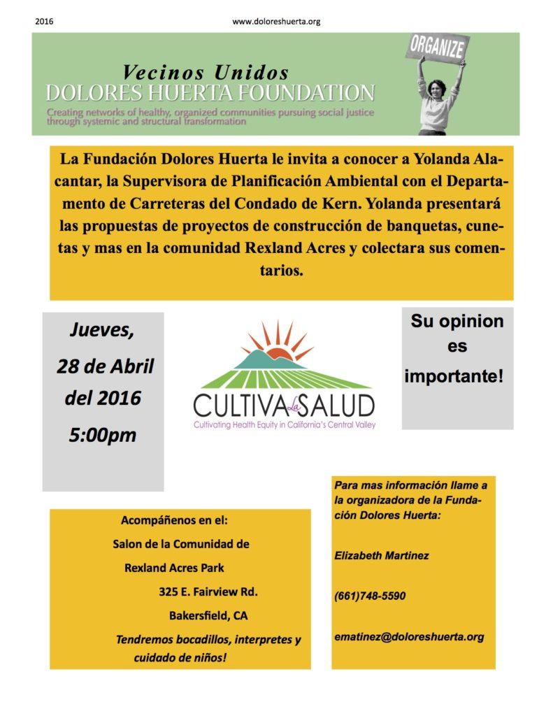 Greenfield Meeting Spanish Flyer 4-16