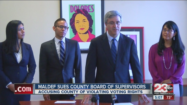DHF in Action: DHF Supports MALDEF's Lawsuit Against Board of Supervisors for Violating Voting Rights Act, 4/22/16