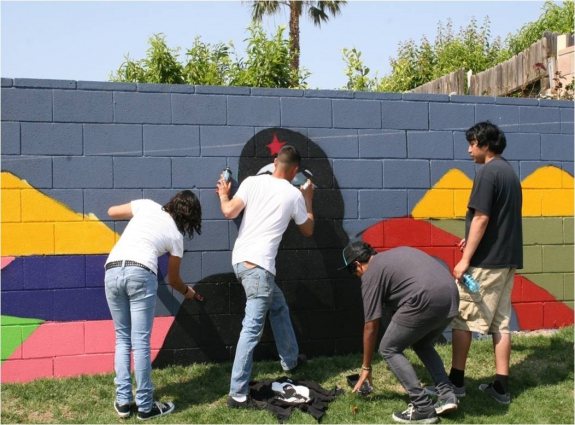 youth mural