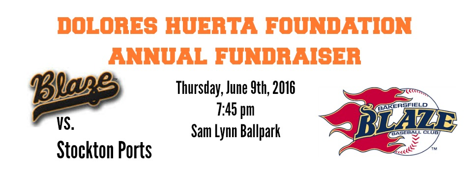 Event: Bakersfield Blaze Baseball Game and DHF Fundraiser, Thurs. 6/9/16, 7:45 pm