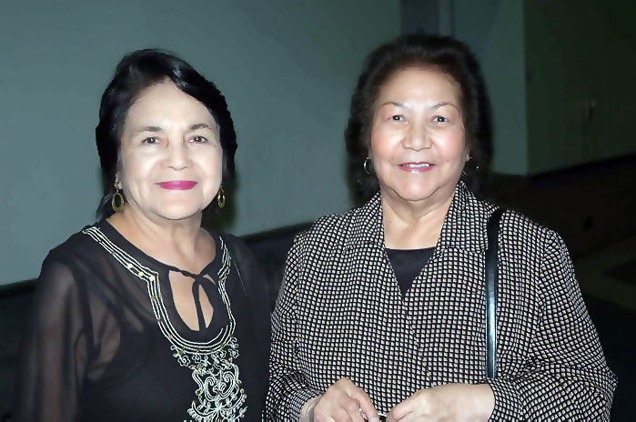 Photo credit: C. Legerrette - Dolores Huerta and Helen Chavez taken at the 50th Anniversary Convention of the UFW
