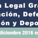 Evento: Clínica Legal Gratuita en Los Angeles, sab. 3/12/16, 9am