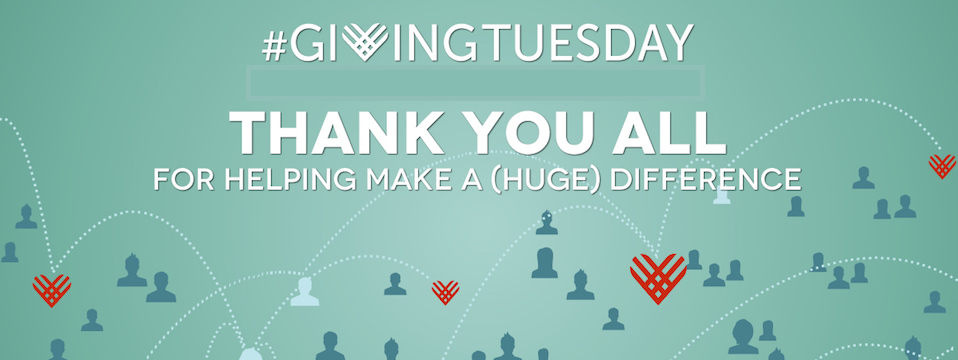 Giving Tuesday Gratitude