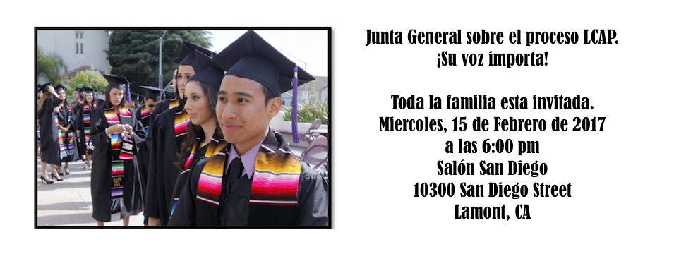 Evento: Junta General en Lamont. Mier. 15/2/17, 6pm