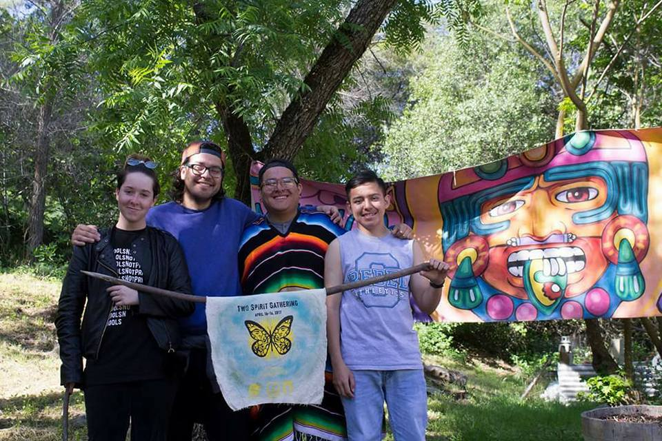 DHF in Action: Two Spirit Gathering event for indigenous LGBTQ people, Fri. 4/14 – Sun. 4/16/17