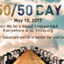 DH in Action: Dolores Celebrates 50/50 Day for #GenderEquality, Wed. 5/10/17