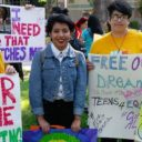 DHF in Action: Teens 4 Equality youth leaders join Free Our Dreams Day of Action, Mon. 5/8/17