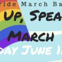 "Event: Stand Up, Speak Out"" National Pride March Bakersfield, Sun. 6/11, 8:30 am"