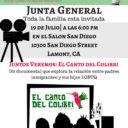 Evento: Vecinos Unidos LAMONT – Junta General, Mier. 7/19/17, 6pm