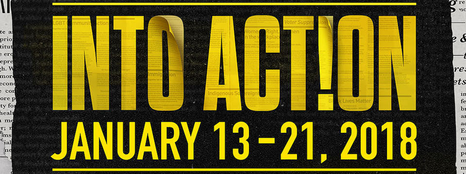 Event: Into Action Social Justice Festival in Los Angeles, Sat. 1/13- Sun. 1/21