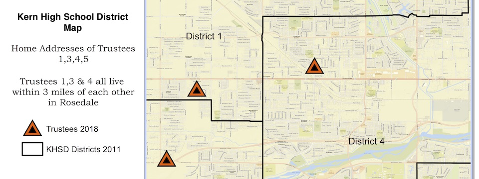 Kern High School District Redistricting Story Map