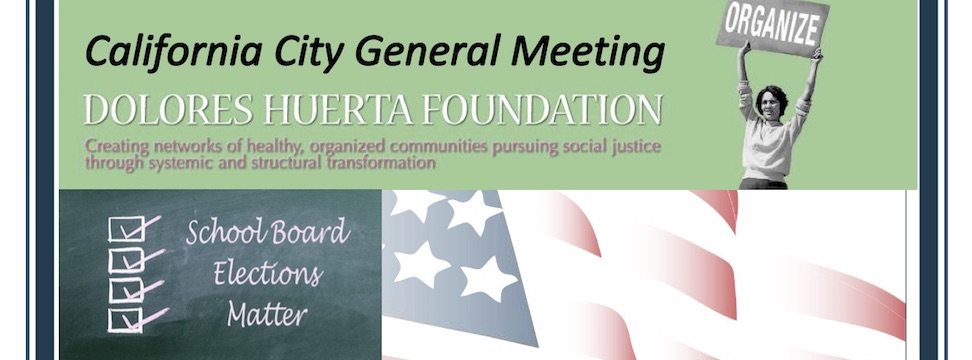 Event: California City General Meeting, Wed. 8/15/18, 6pm