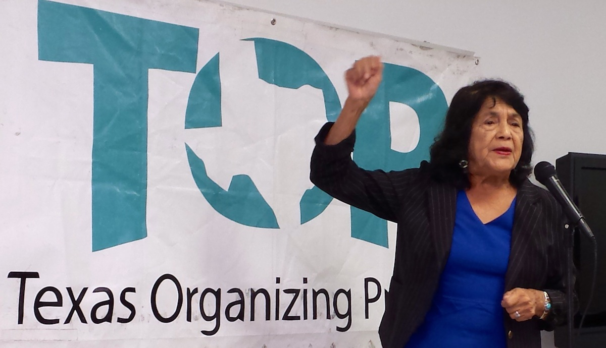 DH in Action: Texas Organizing Project Pushes Early Voting in Dallas, TX 10/20/14