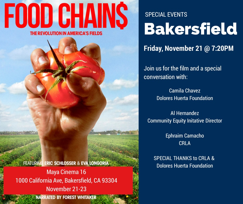 Food Chains Bakersfield Invitation