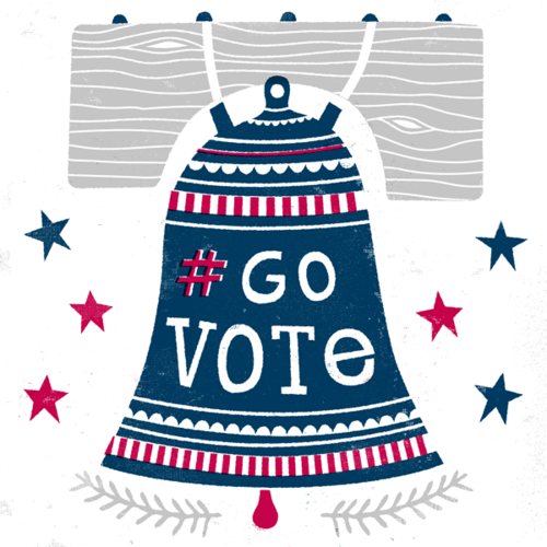 #govote bell