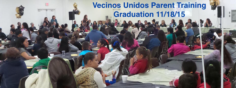 "DHF Vecinos Unidos ""United Neighbors""  Celebrate Parent Training Graduation 11/18/15"