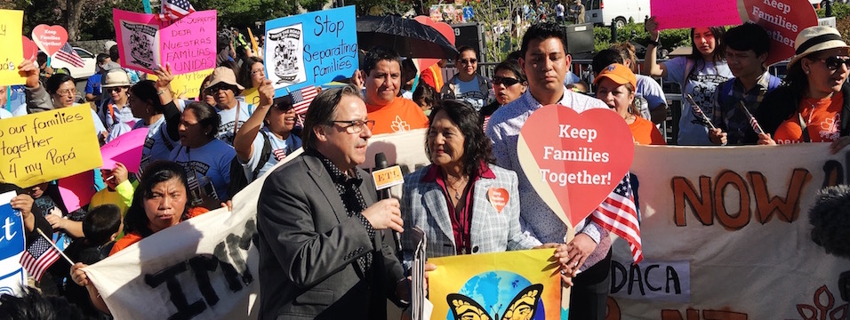 DH in Action: Dolores Huerta Joins Thousands in Actions Across the Country to Rally for DAPA and DACA+ 4/18/16