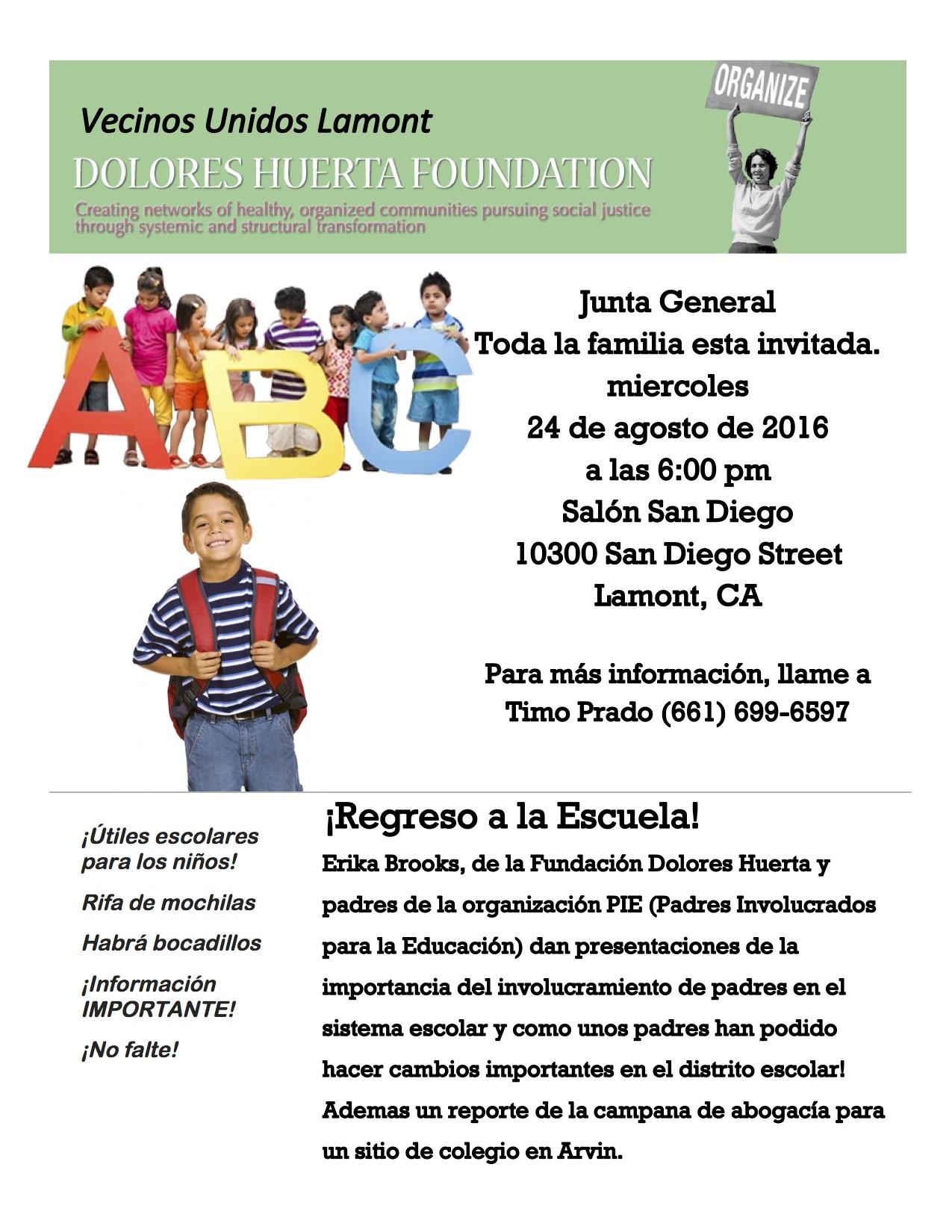 Lamont General Meeting Flyer 8-24-16