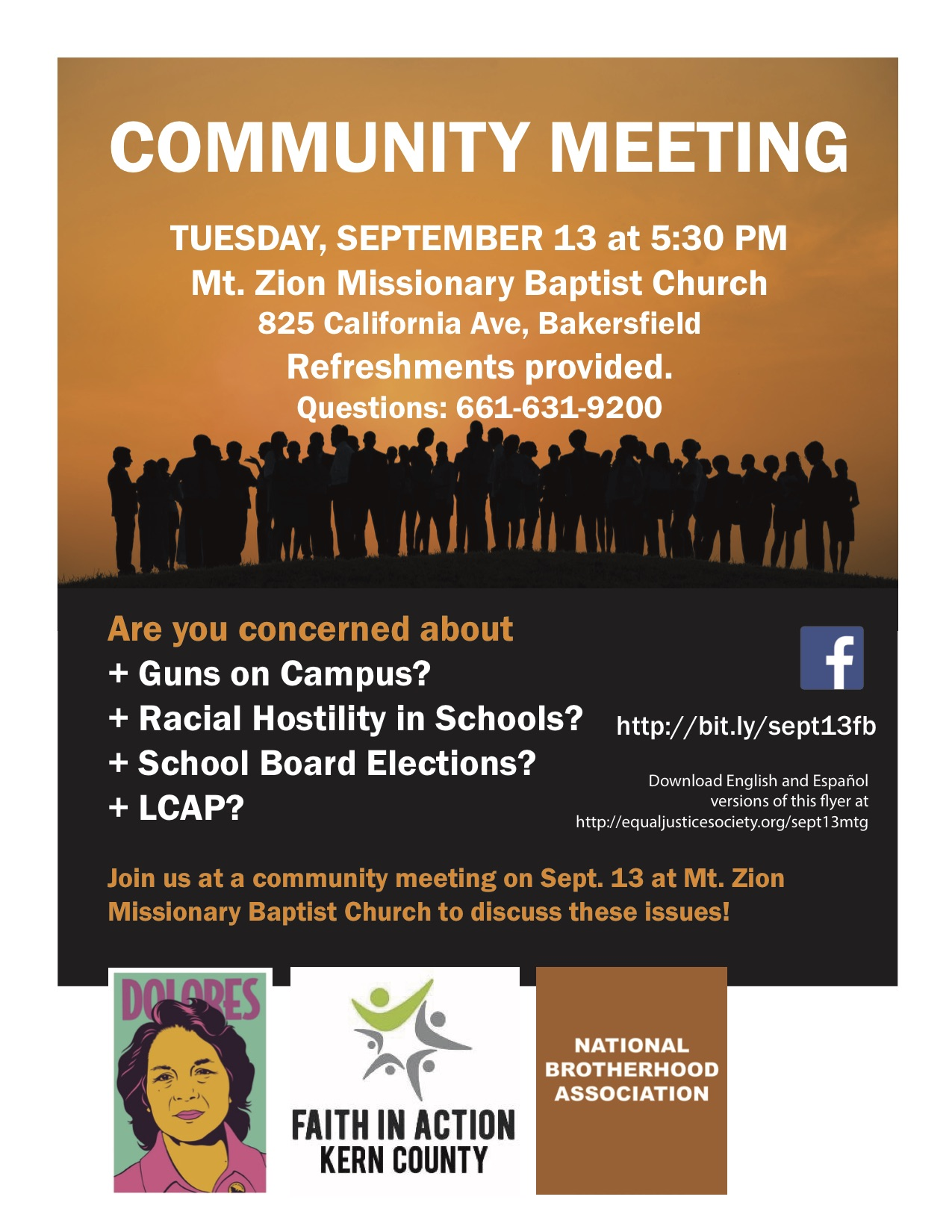 Flyer Community Meeting Sept13 v20160902 with logos English