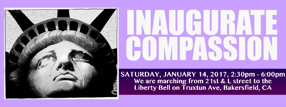 Call to Action: Inaugurate Compassion, Sat. 1/14/17, 2:30pm