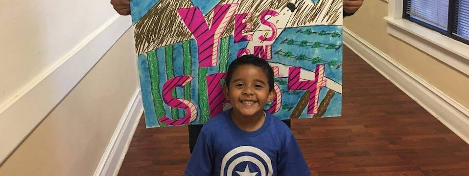 Call to Action: Signature gathering to encourage Assemblyman Rudy Salas to vote yes on SB 54 for immigrant families, 5/7/17, 3pm