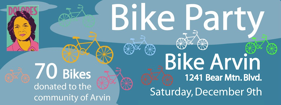 Event: Bike Party in Arvin, 12/9, 11am