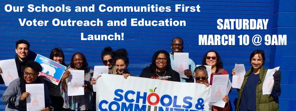 Call to Action: Voter Outreach and Education Launch, Sat. 3/10/18, 9am