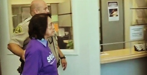Dolores Huerta Arrested While Calling on Fresno Board of Supervisors to Support Caregivers and Care Recipients, 8/20/19
