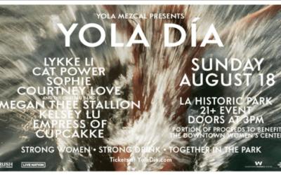 YOLA DÍA, Sun. 8/18, 3pm
