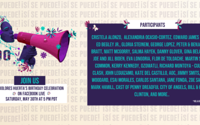 ¡SI SE PUEDE AT 90! Celebrate Dolores' 90th Birthday on Saturday, May 30th 2020 5pm PDT