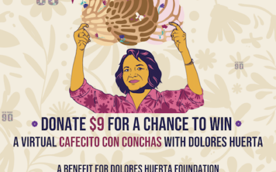 Donate to Win Cafecito con Conchas with Dolores