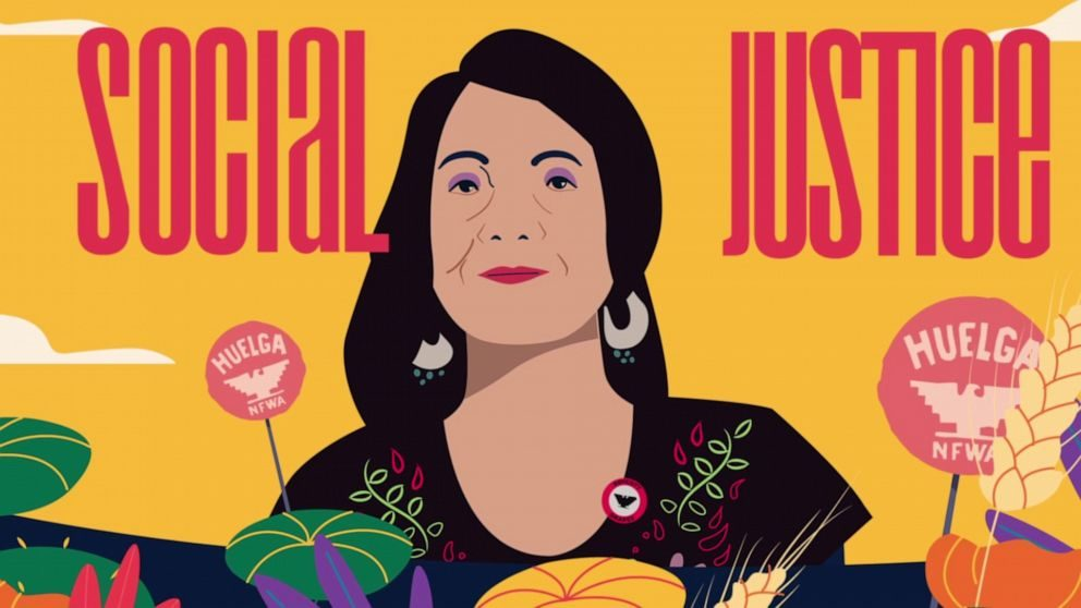 """Meet the fearless labor activist who coined the positive protest slogan 'Si Se Puede'"""