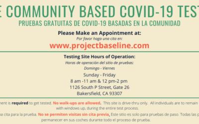 FREE Community Based COVID-19 Testing