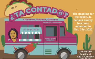 ¿TA COntad@? The Big Census 2020 Taco Give Away