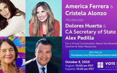 WATCH NOW: Vote Safe California – Voter Info, Resources & More! Traducción de español y ASL disponible